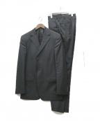 ZEGNA(ゼニア)の古着「3ピーススーツ」|ブラック