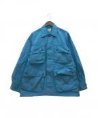 gold(ゴールド)の古着「21SS ナイロンジャングルファティーグジャケット」|ブルー