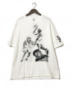 NIKE×OFF WHITE(ナイキ×オフホワイト)の古着「プリントTシャツ OW S/S TEE」 ホワイト