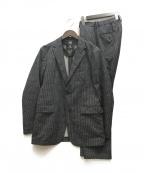 BLACK LABEL CRESTBRIDGE(ブラックレーベルクレストブリッジ)の古着「ストレッチセットアップスーツ」|グレー