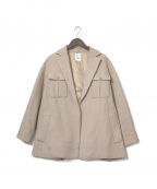 U by SPICK&SPAN(ユー バイ スピック&スパン)の古着「20AW BIGポケットジャケット」 ベージュ
