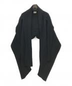 ISSEY MIYAKE FETE(イッセイミヤケフェット)の古着「変形プリーツボレロ」 ブラック