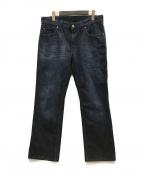 ARMANI JEANS(アルマーニジーンズ)の古着「デニムパンツ」|インディゴ