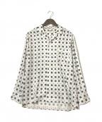 GAIJIN MADE(ガイジンメイド)の古着「オープンカラーシャツ」|ホワイト
