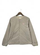 ()の古着「インサレーションジャケット」 ベージュ