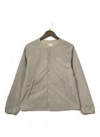 DANTON(ダントン)の古着「インサレーションジャケット」|ベージュ