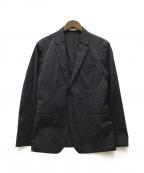 ck Calvin Klein(シーケーカルバンクライン)の古着「ナイロンストレッチテーラードジャケット」|ネイビー