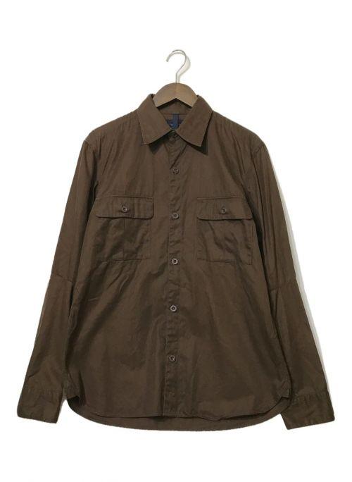 nonnative(ノンネイティブ)nonnative (ノンネイティブ) ミリタリーシャツ ブラウン サイズ:3の古着・服飾アイテム