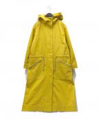 DRESSTERIOR(ドレステリア)の古着「コットンフーデッドコート」|イエロー