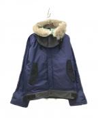 N.HOOLYWOOD()の古着「A-1デッキジャケット」|ネイビー×ブラック