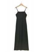 DEUXIEME CLASSE(ドゥーズィエム クラス)の古着「キャミソールワンピース」|ブラック