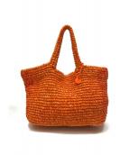 CAMPER(カンペール)の古着「バスケットバッグ」|オレンジ