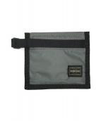 PORTER(ポーター)の古着「2つ折り財布」|グレー