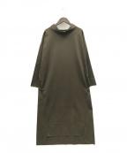 ARTISAN(アルチザン)の古着「21AW シームレスドレス」 オリーブ
