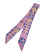 HERMES(エルメス)の古着「ツイリースカーフ」|ピンク