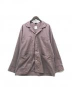 ts(s)(ティーエスエス)の古着「パジャマ シャツ ジャケット」 ワインレッド