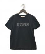MICHAEL MICHAEL KORS(マイケルマイケルコース)の古着「KORSロゴTシャツ」 ブラック