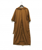 BASILE 28(バジーレ28)の古着「21SS フードドレス」 ブラウン