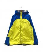 mont-bell()の古着「サンダーパス ジャケット」 ブルー×イエロー