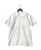 BEDWIN &THE HEARTBREAKERS(ベドウィンアンドザ ハートブレイカーズ)の古着「キューバシャツ」 ホワイト