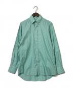 TOMORROW LAND PILGRIM(トゥモローランド ピルグリム)の古着「チェックシャツ」|グリーン
