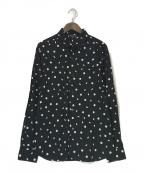 agnes b homme(アニエスベーオム)の古着「ドットシャツ」 ブラック