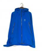 HAGLOFS(ホグロフス)の古着「ロッカージャケット」|ブルー