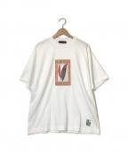CABAN(キャバン)の古着「21SS アートTシャツ」 ホワイト