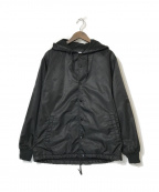 New Era(ニューエラ)の古着「フーデットコーチジャケット」|ブラック