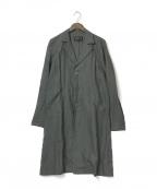 agnes b homme(アニエスベーオム)の古着「リネンコート」 グレー