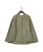 Gabardine K.T(ギャバシンケーティー)の古着「21SS カッティングジャケット」 ベージュ
