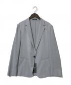 comme ca(コムサ)の古着「21SS テーラードジャケット」 グレー