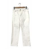 ()の古着「10.75ozストレートデニム」|ホワイト