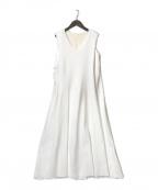 Ameri VINTAGE(アメリヴィンテージ)の古着「ノースリーブワンピース」 ホワイト