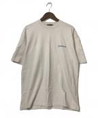 BALENCIAGA(バレンシアガ)の古着「21SS ロゴミディアムフィットTシャツ」|ベージュ