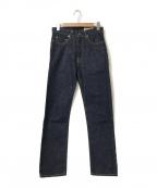 BONCOURA(ボンクラ)の古着「5ポケットデニムパンツ」|インディゴ