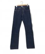 POST O'ALLS(ポストオーバーオールズ)の古着「デニムパンツ」|インディゴ
