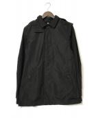 ()の古着「ノヴァチェックライナー付フーデッドコート」|ブラック