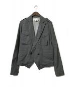 ()の古着「ウールドロージャケット」|グレー