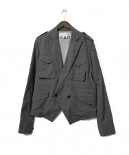 GANRYU (ガンリュウ) ウールドロージャケット グレー サイズ:M