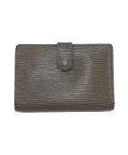 ()の古着「がま口二つ折り財布」|ライラック