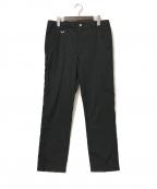 uniform experiment(ユニフォームエクスペリメント)の古着「21SS サイドポケットテーパードパンツ」|ブラック