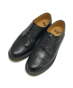 Dr.Martens(ドクターマーチン)の古着「ブローグシューズ」|ブラック