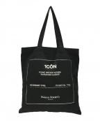 Maison Margiela(メゾンマルジェラ)の古着「21SS 1CONショッピングトートバッグ」|ブラック