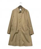 UNITED TOKYO(ユナイテッドトウキョウ)の古着「ボンディングギャバンステンコート」|ベージュ