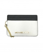 MICHAEL KORS(マイケルコース)の古着「パスケース」|ブラック×ホワイト