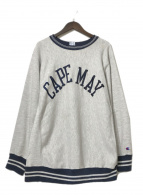 ()の古着「90'S 刺繍スウェット」|グレー
