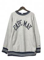 Champion REVERSE WEAVE(チャンピオンリバースウィーブ)の古着「90'S 刺繍スウェット」 グレー