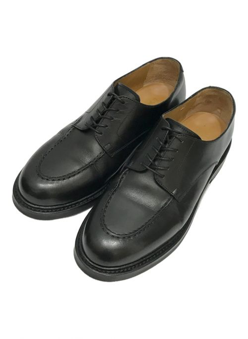 HARROGATE(ハロゲイト)HARROGATE (ハロゲイト) Uチップシューズ ブラック サイズ:8.5の古着・服飾アイテム