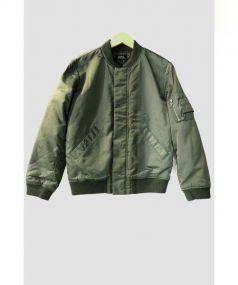 A.P.C(アーペーセー)の古着「MA-1 ジャケット」|オリーブ